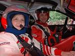 2008 Sachsen-Rallye mit Vanessa