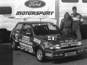 1991 Werksfahrer bei Ford