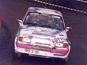 1991 Klassensiege im Ford Fiesta