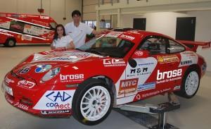 2011 Fam. Dobberkau mit Porsche