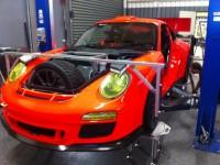 2012 Vermessung des Porsche